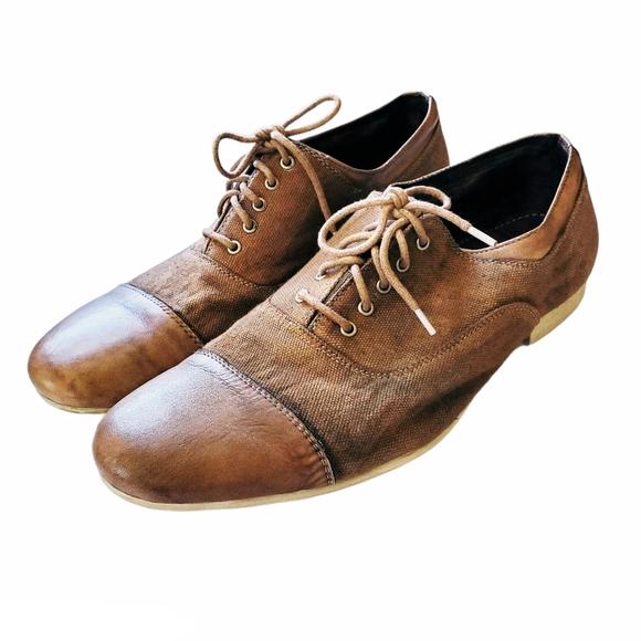 Bed Stu Men's Goodman Oxford Cap Toe Shoes